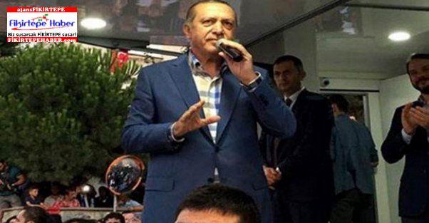 Cumhurbaşkanı Erdoğan Kısıklı'da konuştu
