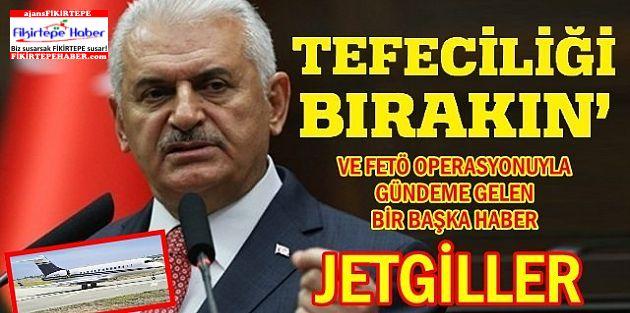 Başbakan Binali Yıldırım ''TEFECİLİĞİ BIRAKIN!''