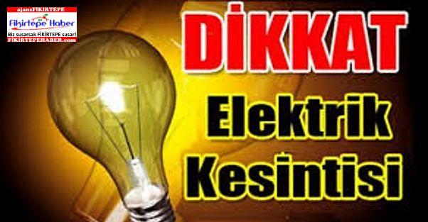 Dikkat, İstanbul Anadolu Yakasında Elektrik Kesintisi ..!