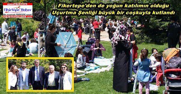 Fikertepe'den yoğun katılım, Uçurtma Şenliği büyük bir coşkuyla kutlandı
