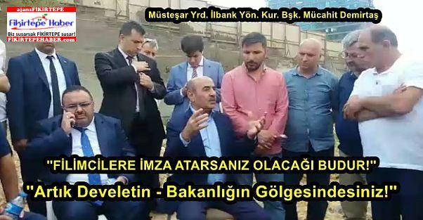 Müsteşar Yrd.Demirtaş'tan Panazedelere Kira ve Destek Müjdesi ..