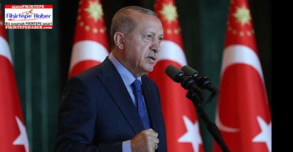 """Cumhurbaşkanı Erdoğan """"Hamdolsun Ekonomimiz Tıkır Tıkır Çalışıyor"""""""