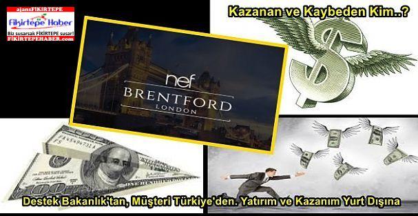 Destek Bakanlık'tan, Müşteri Türkiye'den. Yatırım ve Kazanım Yurt Dışına, Kazanan Kim..?