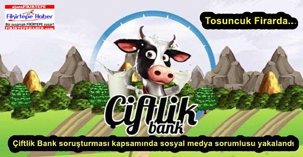 Çiftlik Bank soruşturması kapsamında sosyal medya sorumlusu yakalandı