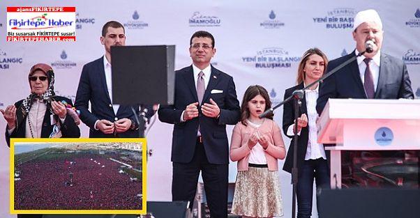 İmamoğlu'nun İstanbullularla Maltepe'de Dualarla Başlayan Buluşması