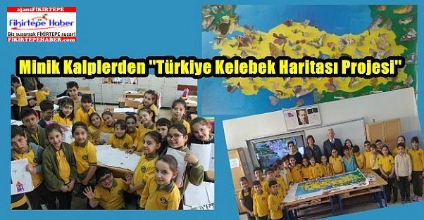 Minik Kalplerin Renkli Kelebek Arayışı ve Türkiye Kelebek Haritası çalışması