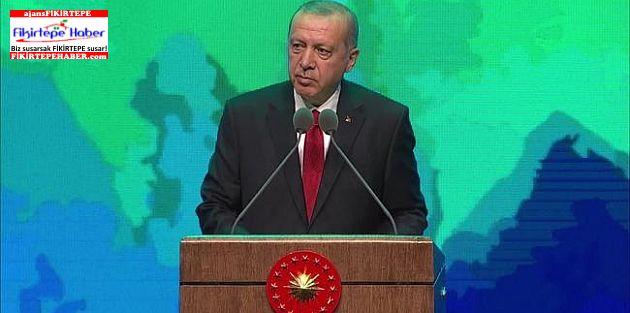 Cumhurbaşkanı Erdoğan: Devleti korumak aileyi korumakla mümkün ..