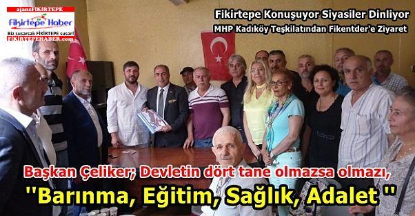 Fikirtepe Konuşuyor Siyasiler Dinliyor - MHP Fikentder Ziyareti