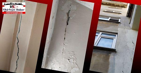 Gündem Deprem ''Fikirtepe'de çatlaklar sayılamıyor artık!''