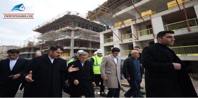 Kirazlıtepe'de kentsel dönüşüm tıkırında, Ocak 2021 teslim