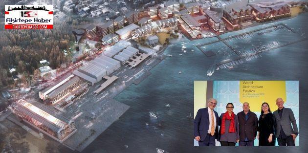 Tabanlıoğlu Mimarlığın Tersane İstanbul Projesi'ne WAF 2019'da ödül