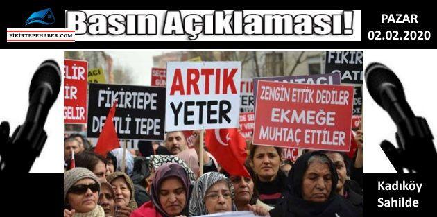 Fikirtepeli Mağdurlar Kadıköy'de Basın Açıklamasına Hazırlanıyor!