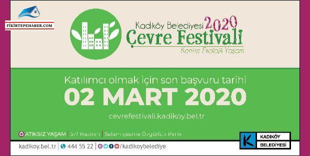 'Kentte Ekolojik Yaşam' temasıyla Kadıköy Çevre Festivali'ne başvurular başladı.
