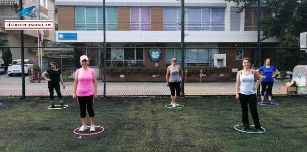 Kadıköy'de Yeni Normale Uygun Sabah Sporlarına Başlandı
