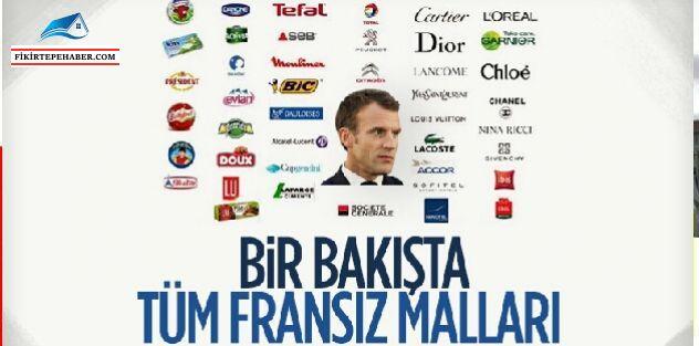 """Başkan Erdoğan """"Fransız Ürünlerini Almayın"""""""