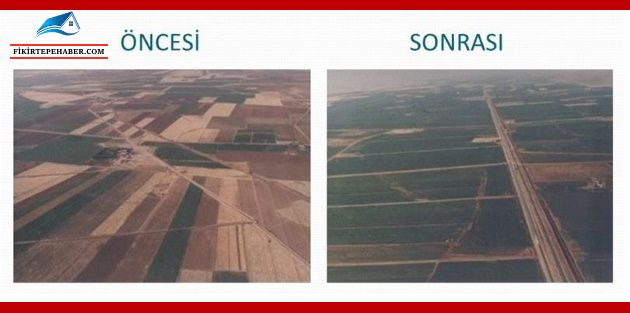 Arazi toplulaştırma ve tarla içi geliştirme hizmetleri uygulama yönetmeliğinde değişiklik