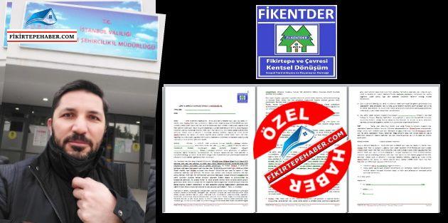 FİKENTDER - Fikirtepe Plan Notları Örnek İtiraz Dilekçesi yayınlandı