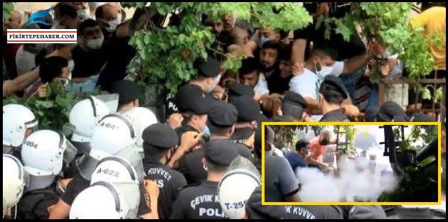 Gönüllü dönüşümden Tozkoparan'a, polisten biber gazlı müdahale..