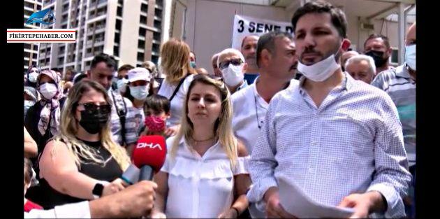 Bakanlığa Fikirtepe'de ilk protesto