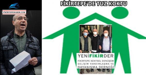 Fİkirtepe Yenifikirder Başkanı Engin Akgüzel'in Müteahitten Komisyon Aldığı Ortaya Çıktı