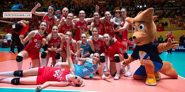 Filenin Sultanları, 2020 CEV Tokyo Olimpiyatları'nda! 'Türkiye 3 - Almanya 0'