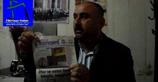 Fikirtepe Gündem: Vatandaş Ertuğrul Öztürk Röportajı , 18.02.2014 (VİDEO)