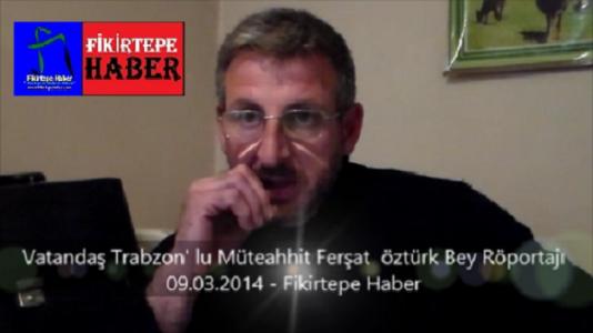 Fikirtepeli Vatandaş Ferşat Öztürk Bey Röportajı, Tapu devri ve sakıncaları ( video )