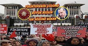 Fikirtepe'de Çözüm Reisin Bir Sözüne Bakar !!!