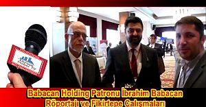 Babacan Patronu İbrahim Babacan Röportajı ve Fikirtepe Çalışmaları
