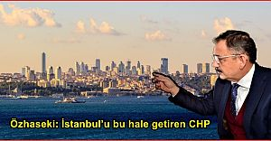 Özhaseki: İstanbul'u bu hale getiren CHP