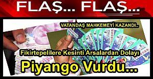 Fikirtepelilere İkinci Bedelsiz Kesinti Arsalardan Dolayı Piyango Vurdu...