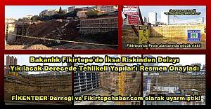 Bakanlık Fikirtepe'de Yıkılacak Derecede Tehlikeli Yapılar'ı Resmen Onayladı..