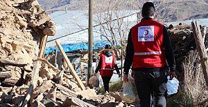 Kızılay Yardımları Elazığ'a ulaştı