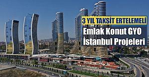 Emlak Konut GYO İstanbul Kampanya Fırsat Projeleri