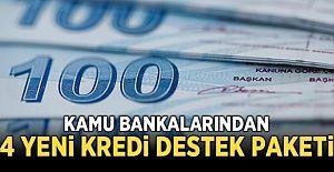 Kamu bankalarından yeni kredi destek paketi