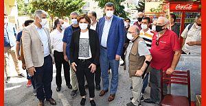 Kaftancıoğlu ve Odabaşı'ndan Fikirtepe'de Kırathane Ziyareti