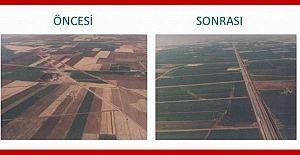 Arazi toplulaştırma ve tarla içi geliştirme...