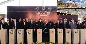TMSF, Mollakara'da 160 milyon dolarlık yatırım yapılacak altın madeninin temelini attı
