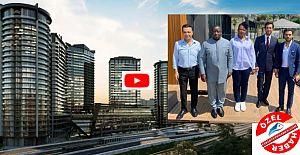 Fikirtepe'yi ziyaret eden Sierra Leone Cumhurbaşkanı'ndan Yeni Kadıköy Projesine Övgü