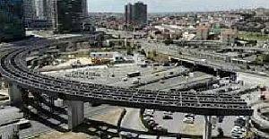 İBB 15 ay sonra Fikirtepe D100 köprülü kavşaklarında çalışmalara başladıı!