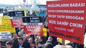 Fikirtepe Kentsel Dönüşüm Mağdurlarından Kadıköy'de Tepki Eylemi!